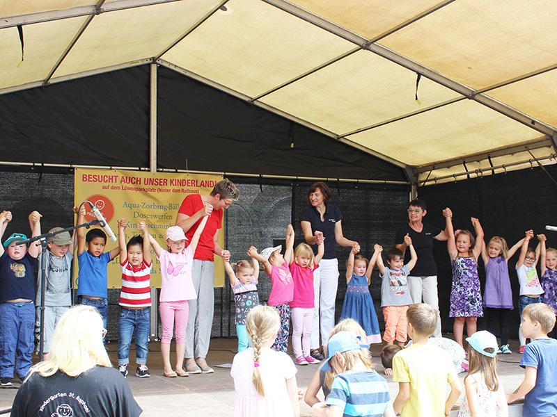 Bühnenprogramm Stadtfest
