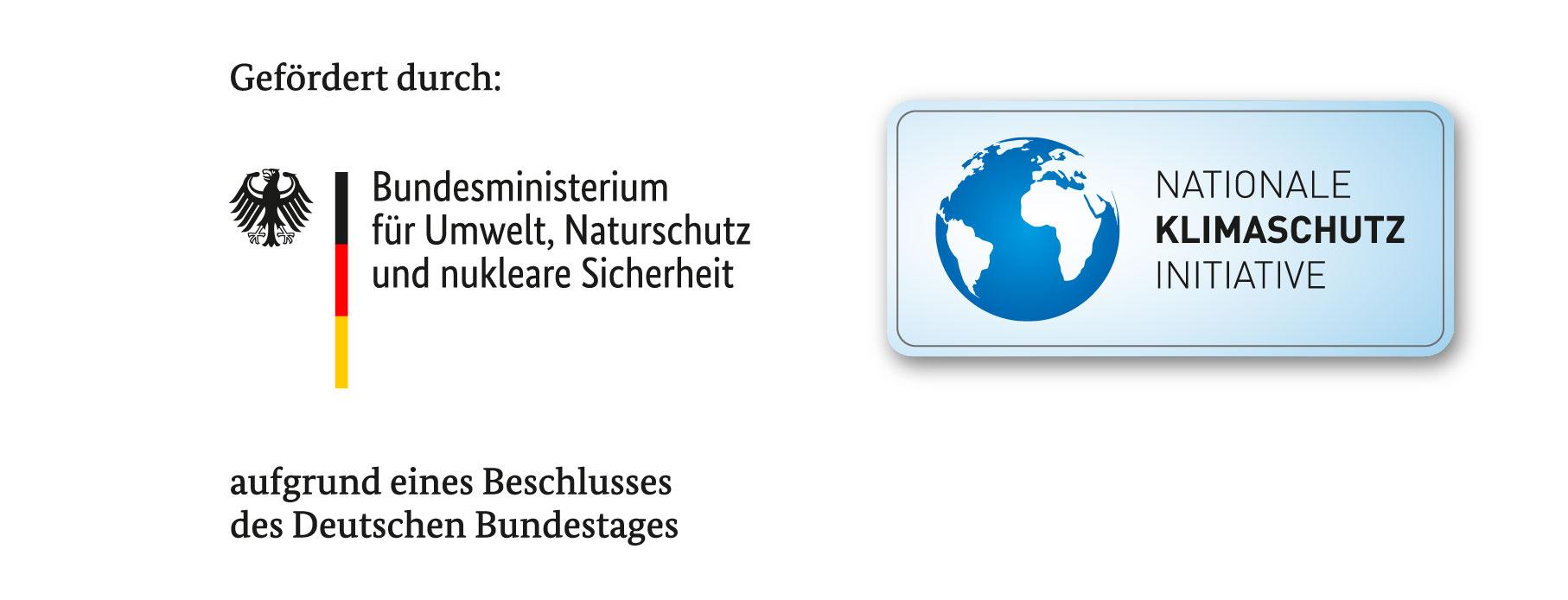 neues Logo NKI-geförderte Klimaschutz-Projekte