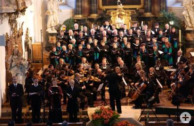 Jubiläumskonzert 2005 in St.Martins-Kirche