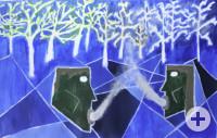 """""""Von Menschen und Bäumen"""" von Lena Erath, inspiriert durch Gerhard Berger"""