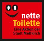 Abbildung des Nette-Toilette-Aufklebers