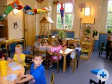 Kinder im Kindergarten beim spielen