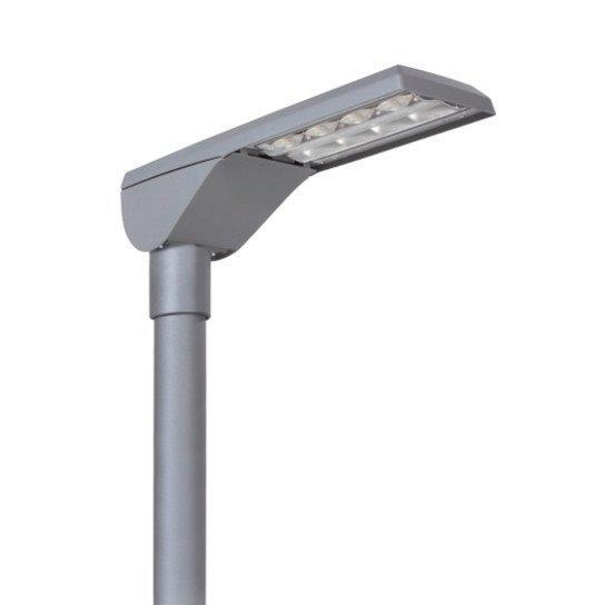 die neuen LED-Straßenlampen in Meßkirch