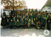 Gruppenbild Wald
