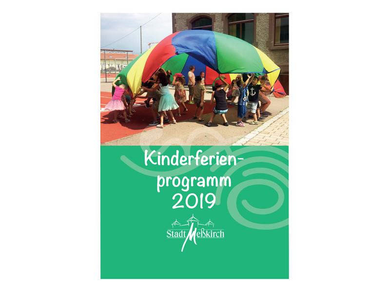 Titelbild Kinderferienprogramm 2019