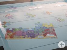 Hallenbad Meßkirch neue Spielgeräte - Unterwasserpuzzle