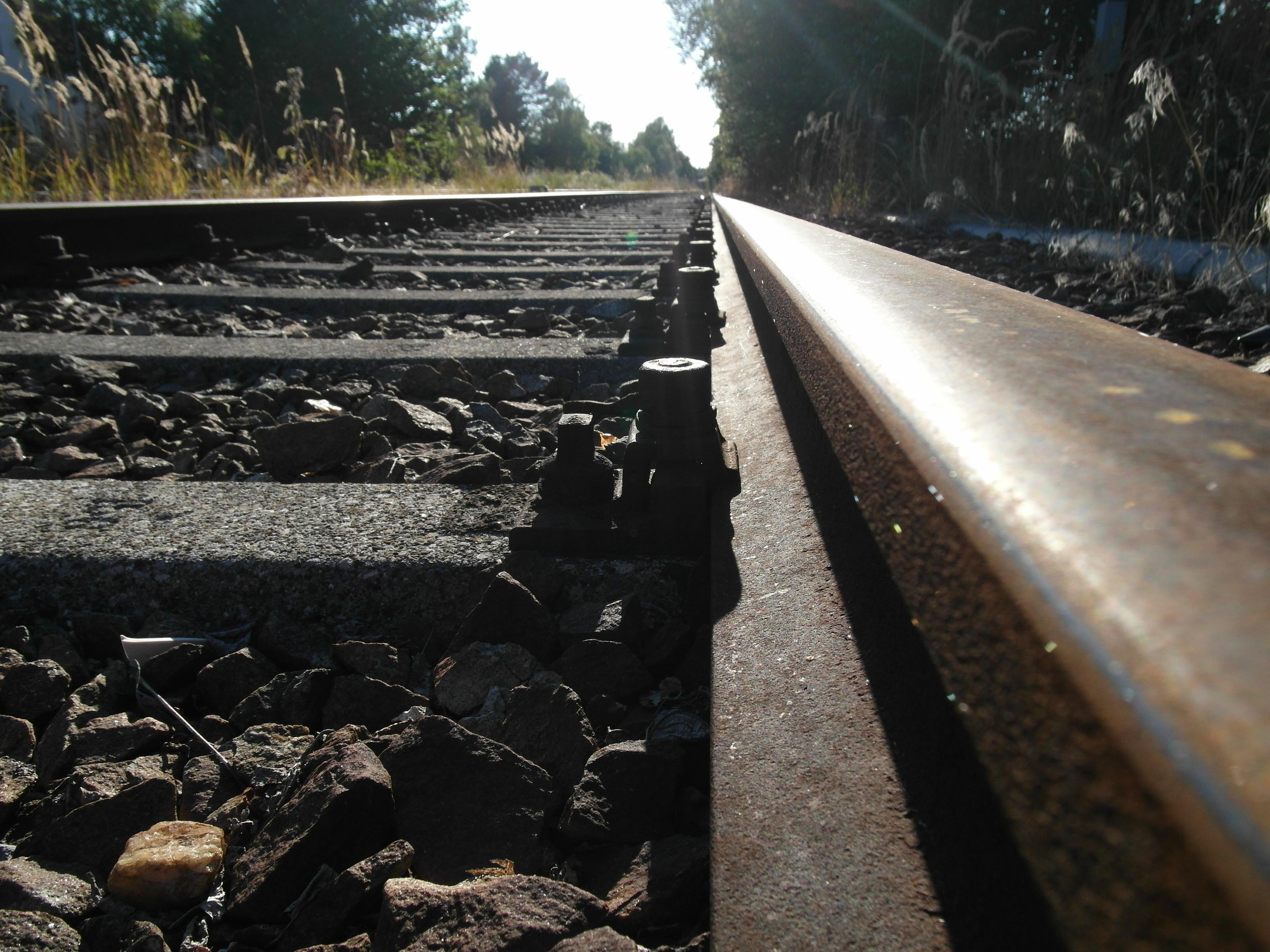 Ablachtalbahn - Schiene Nahaufnahme