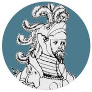 Portraitzeichnung von Froben von Zimmern